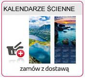 Kalendarze 2014  ścienne 13 stonicowe, Kalendarze 2014  spiralowane, kalendarze lakierowane