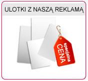 Ulotki A5 z naszą reklamą - zamowdruk.pl, Ulotki A6, Ulotki A4, Ulotki A3, Ulotki DL, Ulotki jednostonne, Ulotki dwustonne