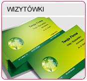Wizytówki jednostonne, Wizytówki dwustonne, Wizytówki lakierowane, Wizytówki foliowane