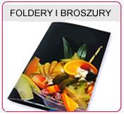 Foldery A4, Foldery składane, Broszura składana, Foldery A5, Foldery 250 gr lakierowane