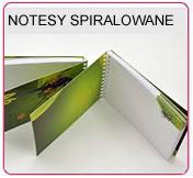 Notesy na spirali, notesy spiralowane , notesy A5, notesy A6, notesy A4
