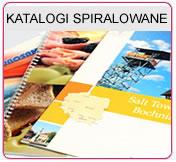 Katalogi pionowe, pozione  spiralowane A4 /12,16,20,24 stony/, Katalogi pionowe, poziome spiralowane A5 /12,16,20,24 stony/,