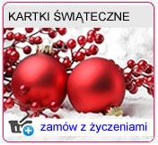 Kartki świąteczne pojedyńcze, kartki świąteczne składane DL, Kartki świąteczne składane A6